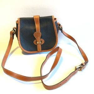 Dooney & Bourke Vintage Mini Crossbody Saddle Bag